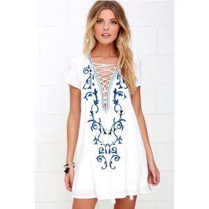 Lulu's Embroidered Dress